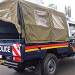KDF and police officers survive horror attack
