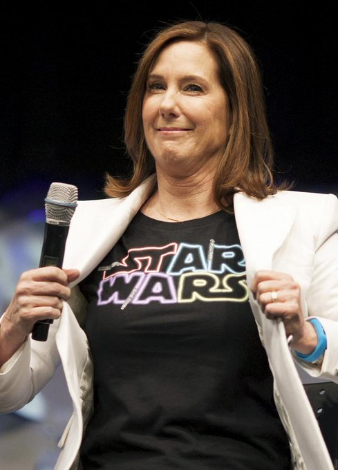Happy Birthday to  Kathleen Kennedy! May The Force Be With You!