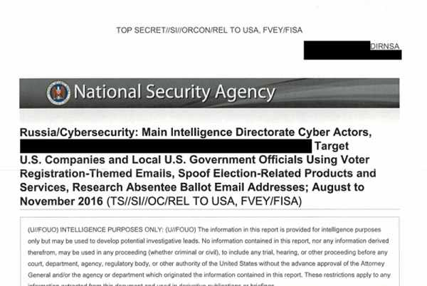 Report suggests Russia hackers breached voting software firm