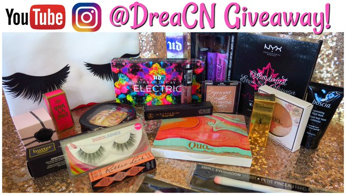 SUMMER 2017 MAKEUP GIVEAWAY! OPEN INTERNATIONAL