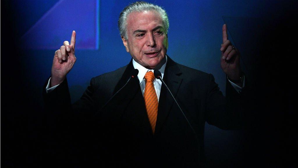 Brazil's embattled president in court over graft scandal
