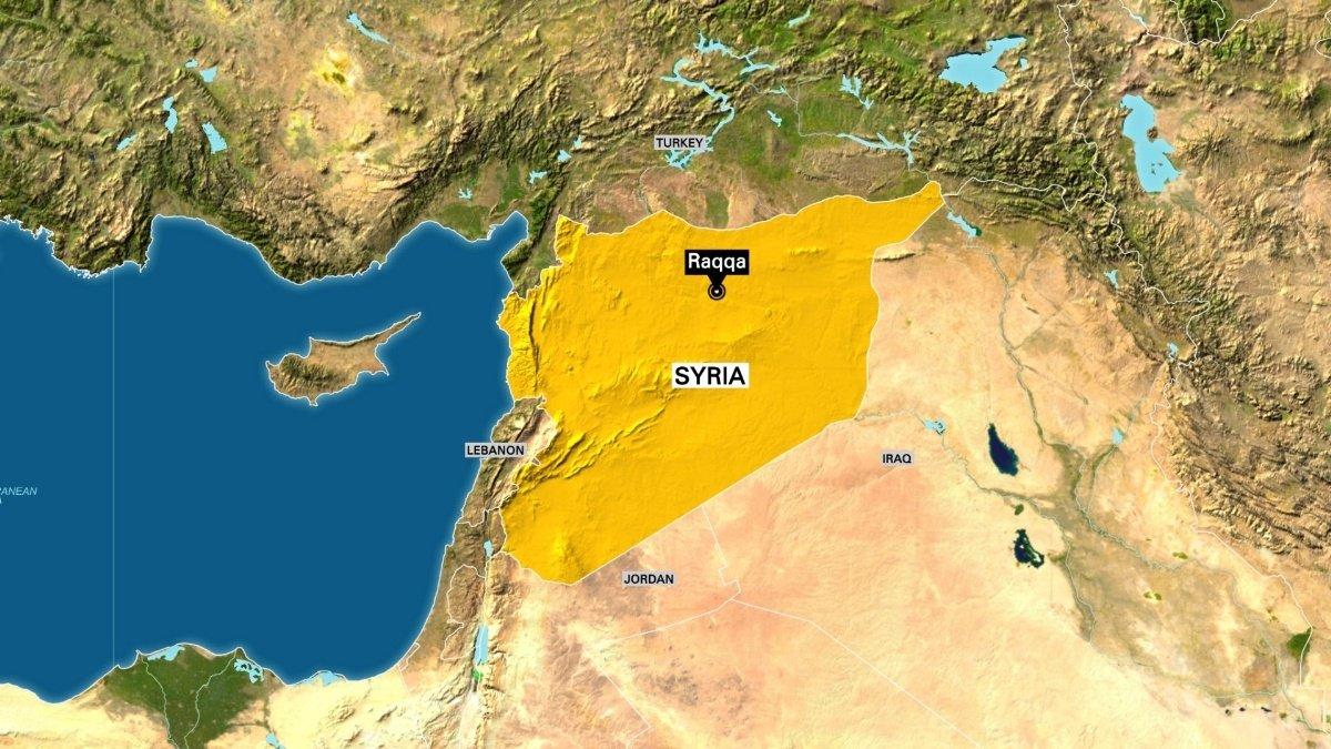 Airstrikes on Islamic State-held Syrian city kill 12