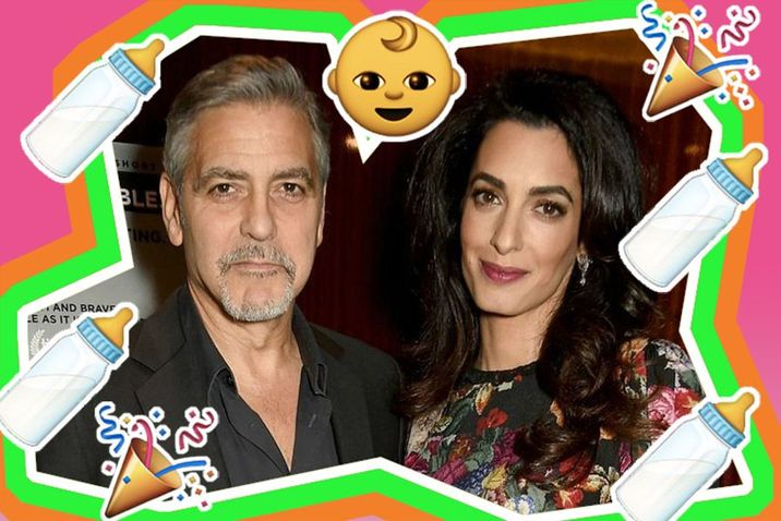 Amal Clooney has give birth to her and George Clooney's