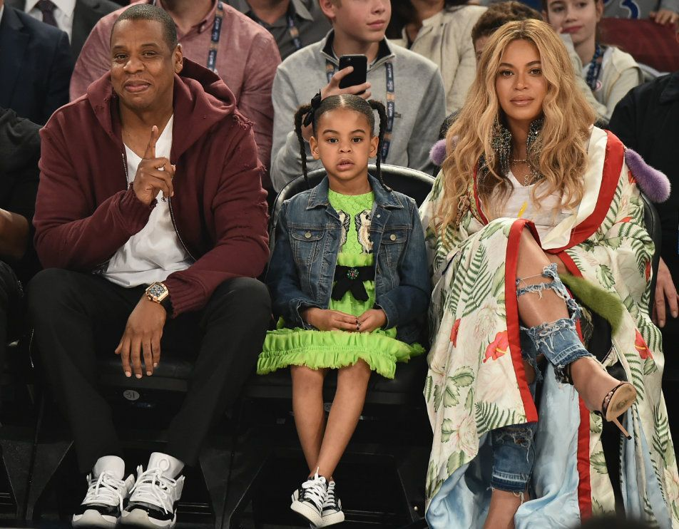 Beyonce's daughter Blue Ivy will wear a £780 outfit when her twin silbings are