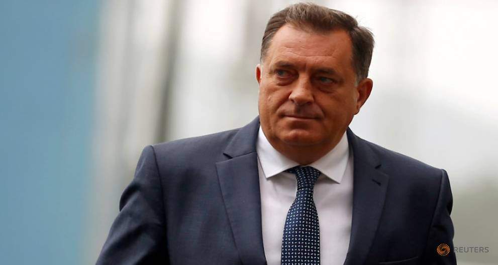 Serb president bans teaching about Sarajevo siege, Srebrenica genocide