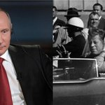 Putin backs JFK conspiracy theory that claims president was murdered by US agents as he ridicules investigation into Russian meddling in US election