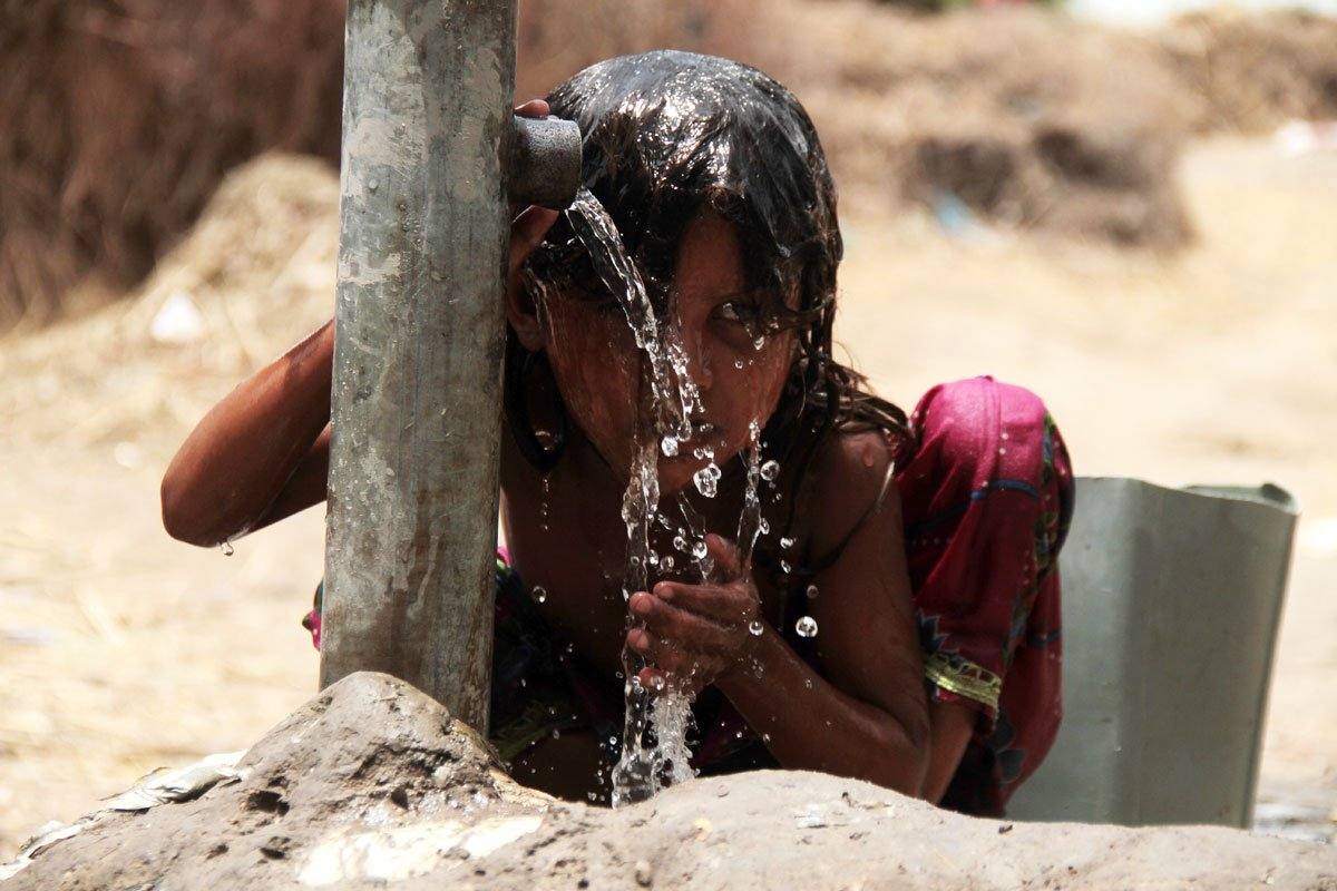 Keeping cool in the intense summer heat of South Asia
