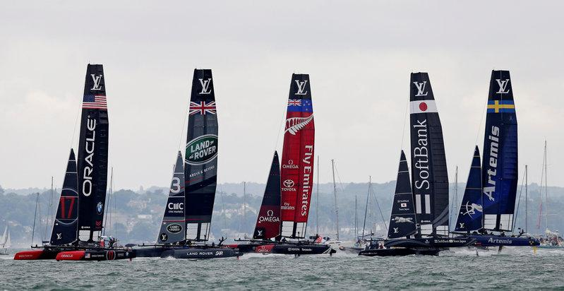 Japan go 2-1 up against Sweden in America's Cup semi-final