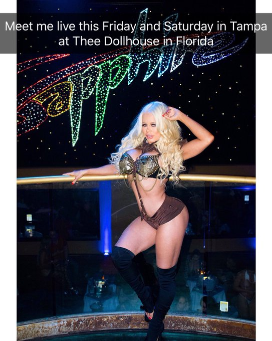 Meet me live this Friday and Saturday in Tampa Florida at Thee Dollhouse June 9 & 10 https://t.co/oo