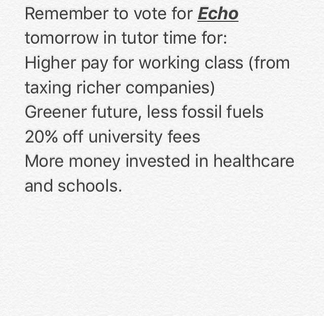 test Twitter Media - RT @echoCCC1: #cccmockelection17 https://t.co/LzgSFzcxF0