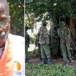 ODM MP aspirant claims police officers have sorrounded his home ahead of DP Ruto's visit