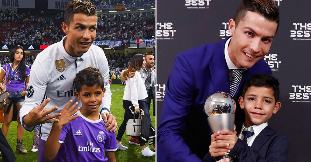 Ronaldo Needs Bigger Trophy Room After Son Adds Two More To Family Haul