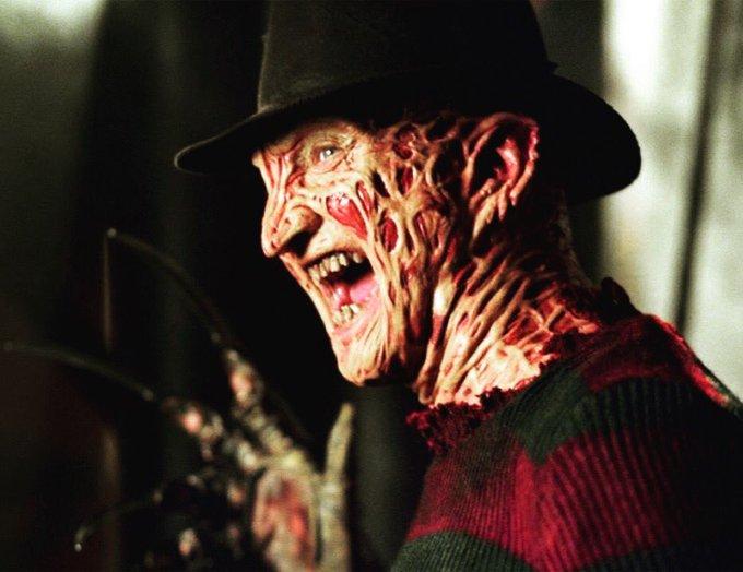 Happy Birthday to the Dream Demon himself, Robert Englund aka Freddy Krueger!