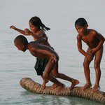 Attempts to raise environmental awareness among Kiribati children