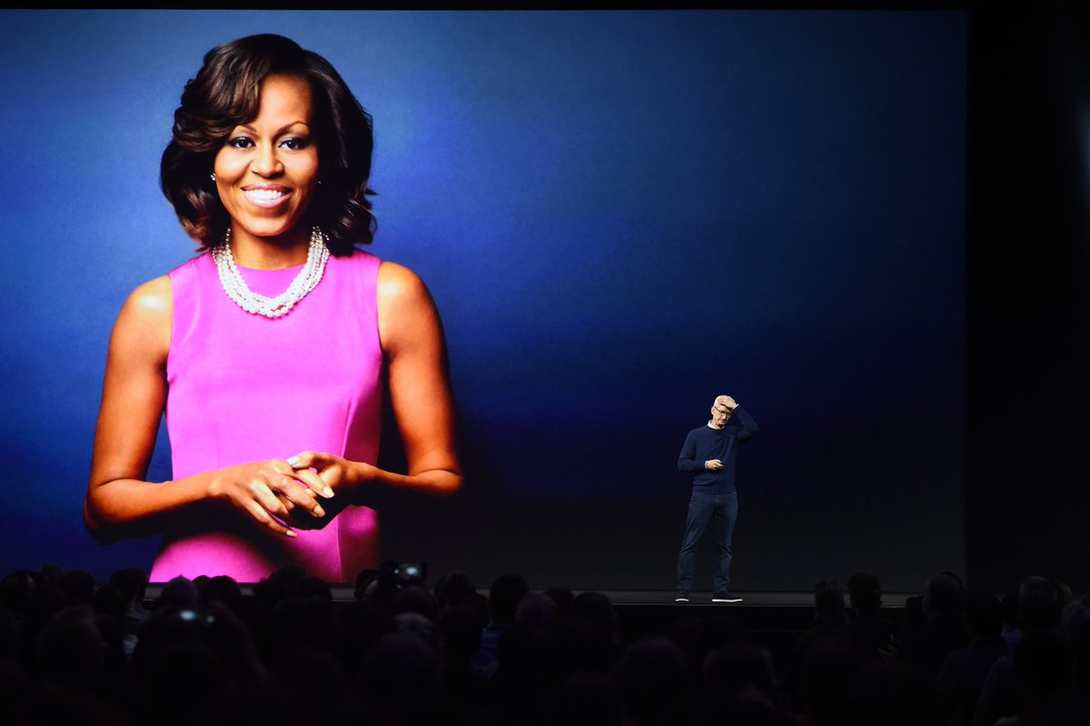 Michelle Obama talks tech, President Trump, and life after the White House at Apple's WWDC