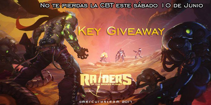 Prueba la CBT de Raiders of the Broken Planet