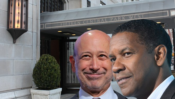 The 'world's most powerful address' is home to big shots like Lloyd Blankfein and Denzel Washington https://t.co/A9gED7fc2a