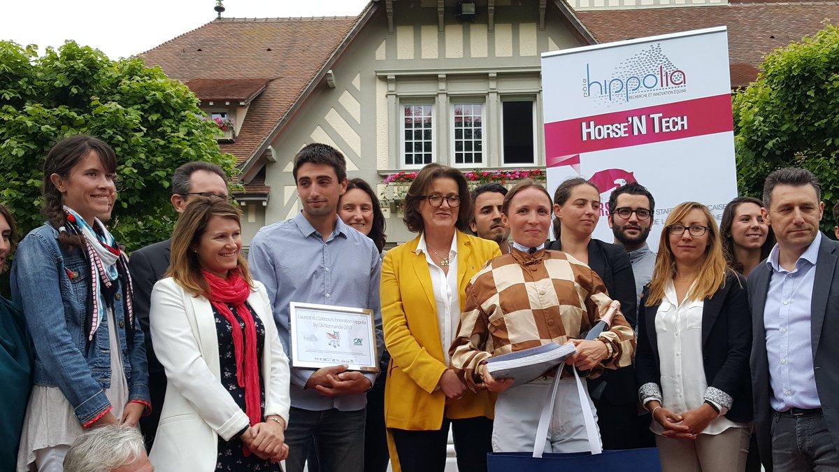test Twitter Media - Remise du prix #Horse'NTech à @hippoclairefont @Pole_Hippolia  @LaFrenchTech. L'#Innovation au coeur d'une filière d'avenir. #Normandie https://t.co/C2D8ZMqS68
