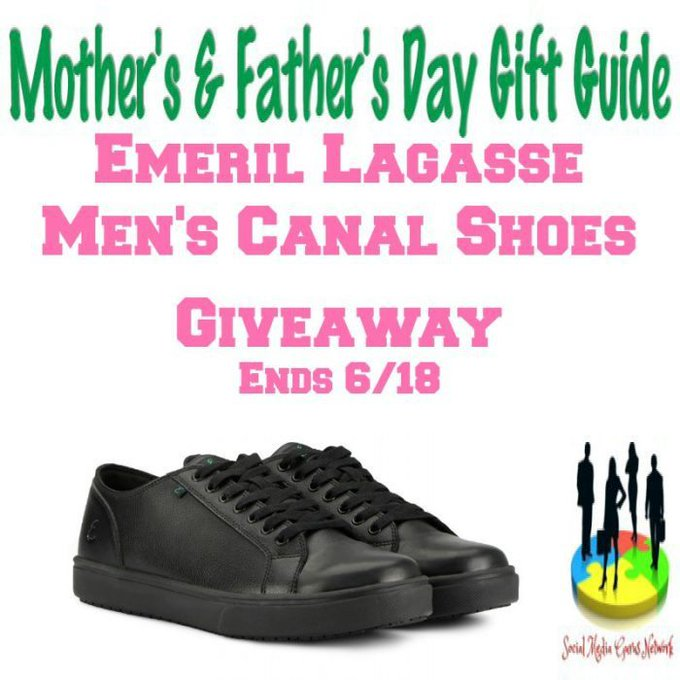 Emeril Lagasse Men's Canal Shoes Giveaway Ends 6/18 @SMGurusNetwork