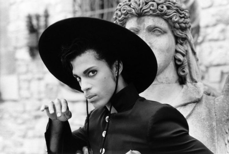 Happy Birthday, Prince.   Seen here in his 1986 directorial debut, UNDER THE CHERRY MOON.