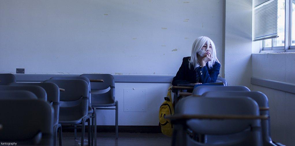 白髪しおのコスプレの写真撮影プレビュー!写真家:  #nobunagun #ノブナガン