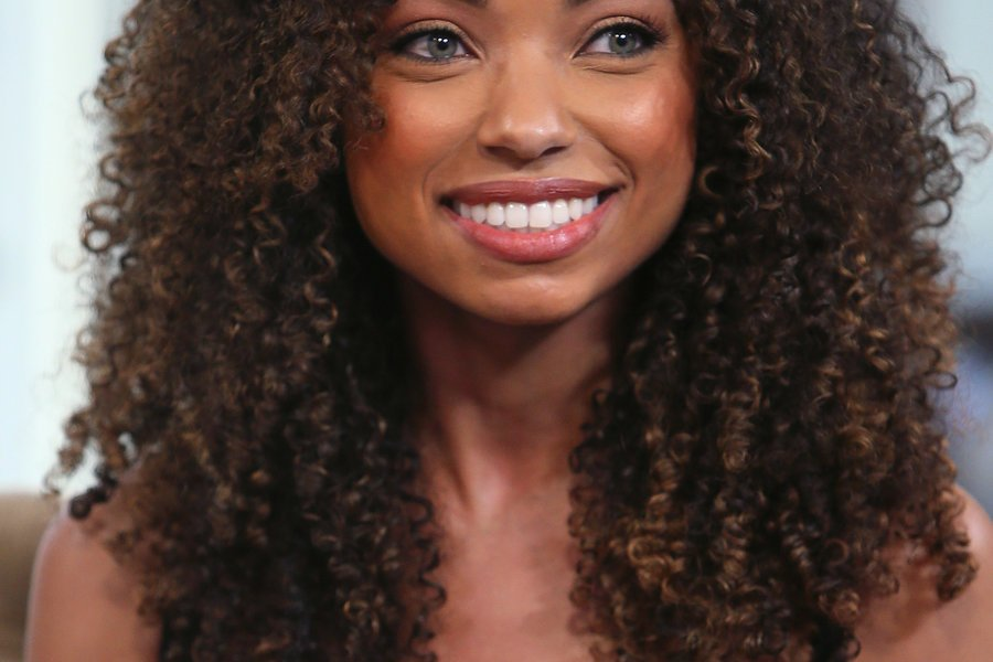 Logan browning on the twists and turns of her curly hair journey ...