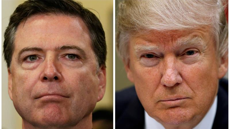 """I hope you can let this go"": Trump asked FBI to drop Flynn investigation, claims Comey"