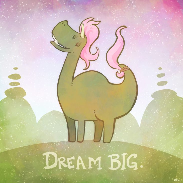 RT @hitRECord: ✨???????? Dream Big ????????✨  https://t.co/8oVzTocorC https://t.co/rRFkwQ74Rv