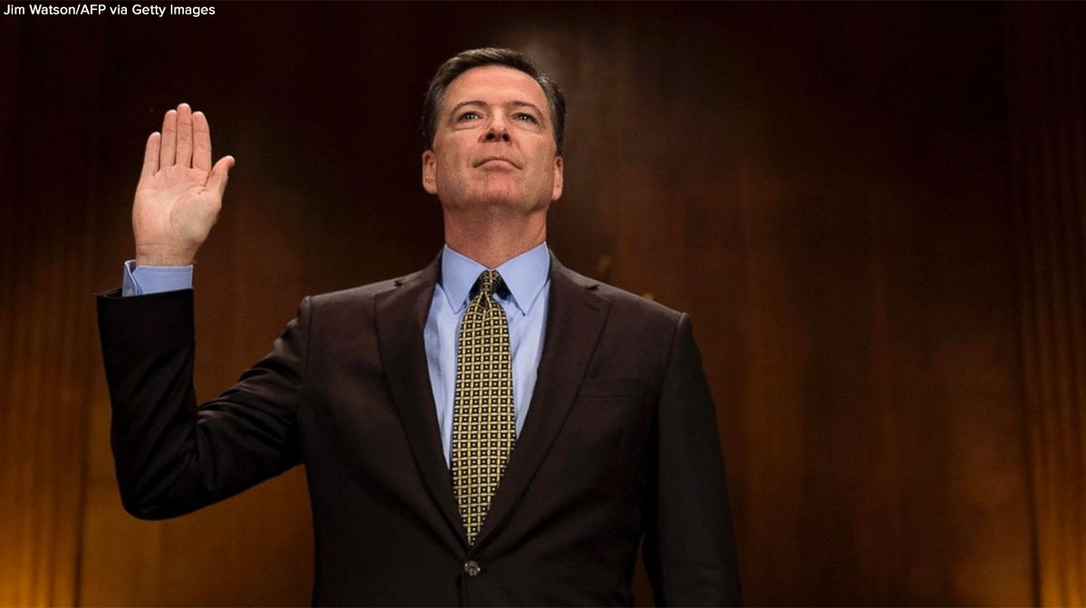 Viewer's guide to tomorrow's testimony from former FBI Director James Comey: