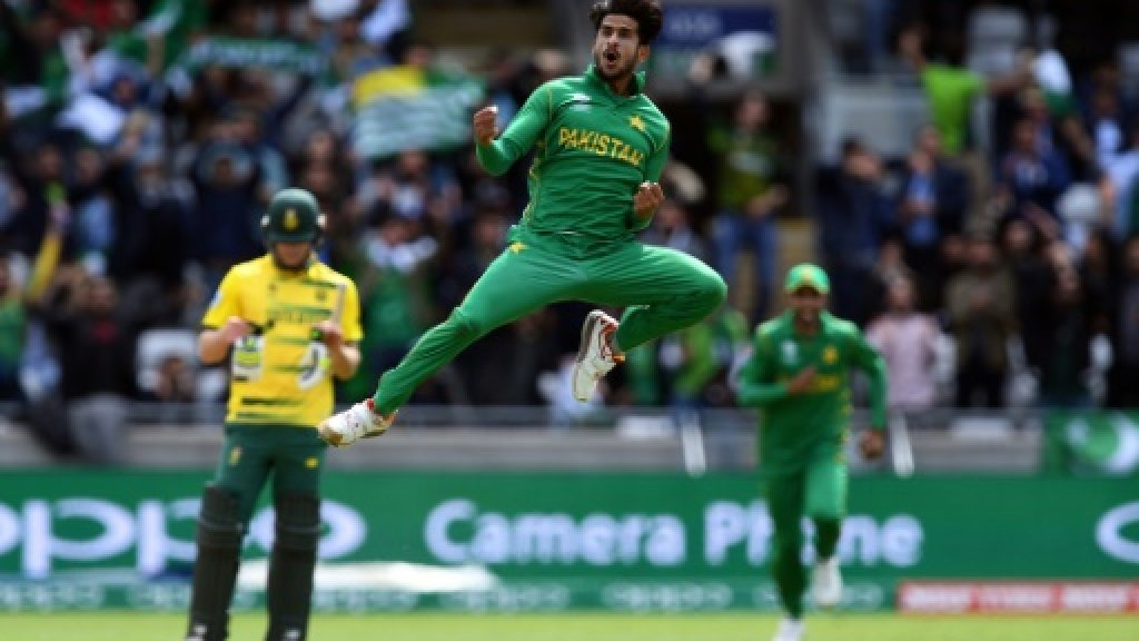 Hasan stars as Pakistan fight back against South Africa in Champions Trophy
