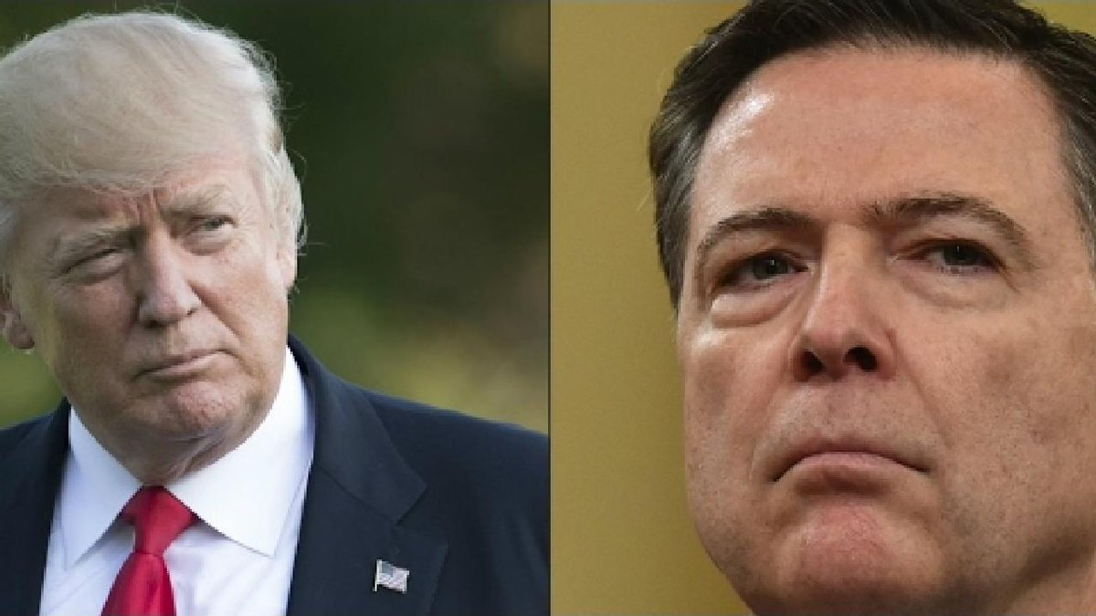 ?? UK - Ex-FBI boss Comey says Trump told him to 'let Flynn probe go'