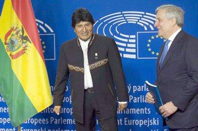 Bolivia y Europa acuerdan fortalecer cooperación - Diario Co Latino
