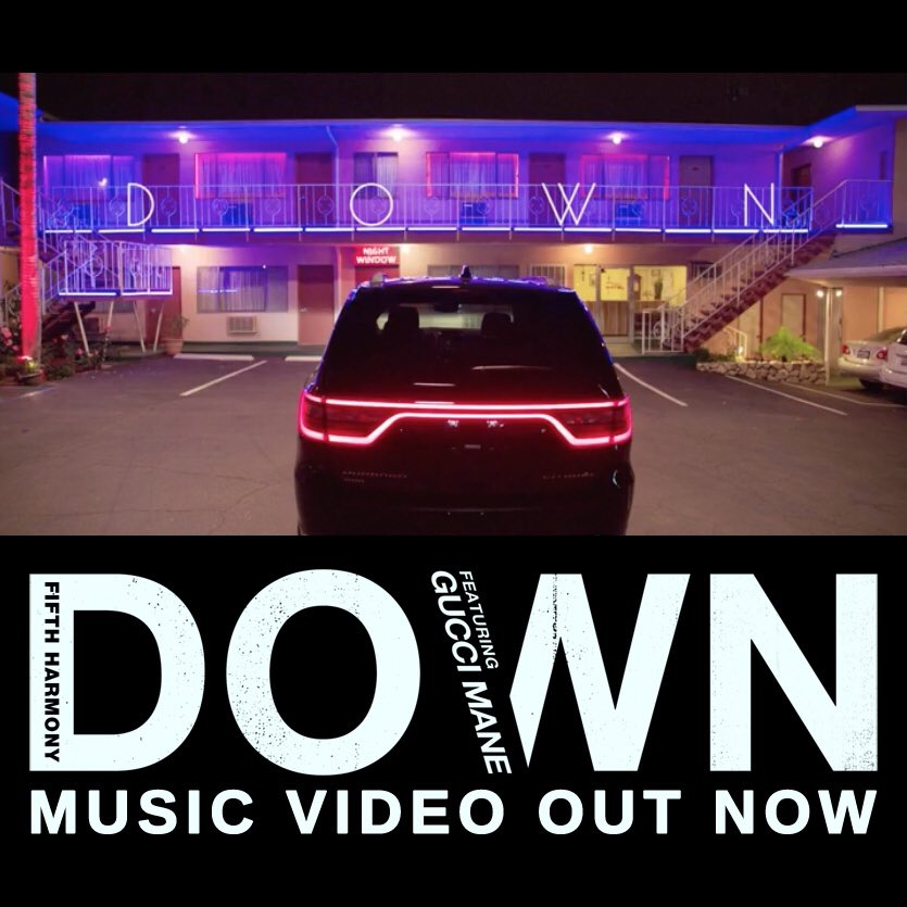 @FifthHarmony's #DownMusicVideo OUT NOW on @Vevo! �������� https://t.co/oBjEEOlWEg