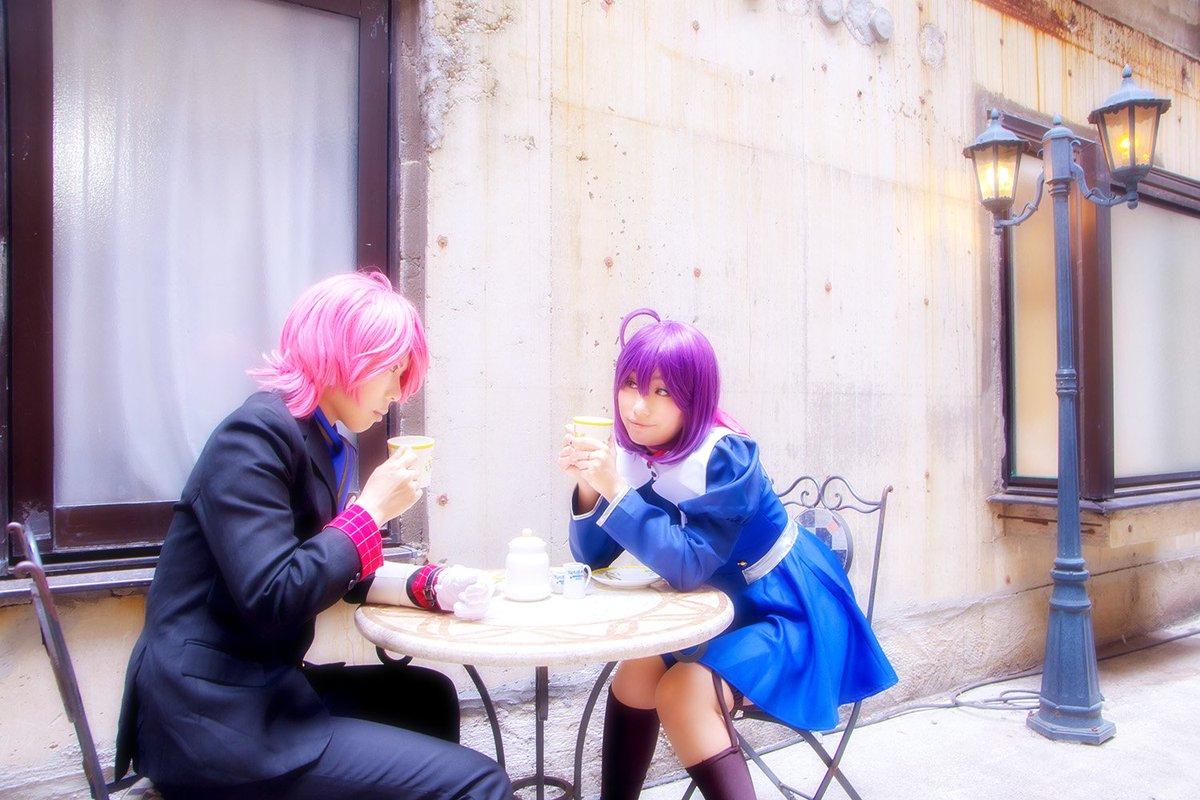 じろうさんかっこよすぎか星野輝子:彩鳥人吉爾朗:卯月さん( )Photo:ゆうた人さん( )#コンクリート・レボルティオ