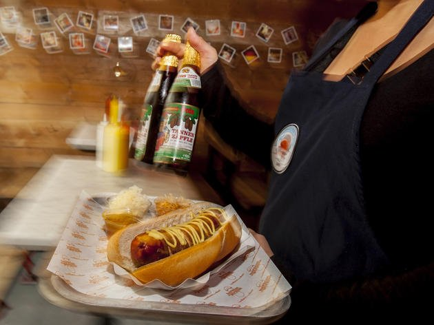 Herman ze German London's Best Hot Dogs