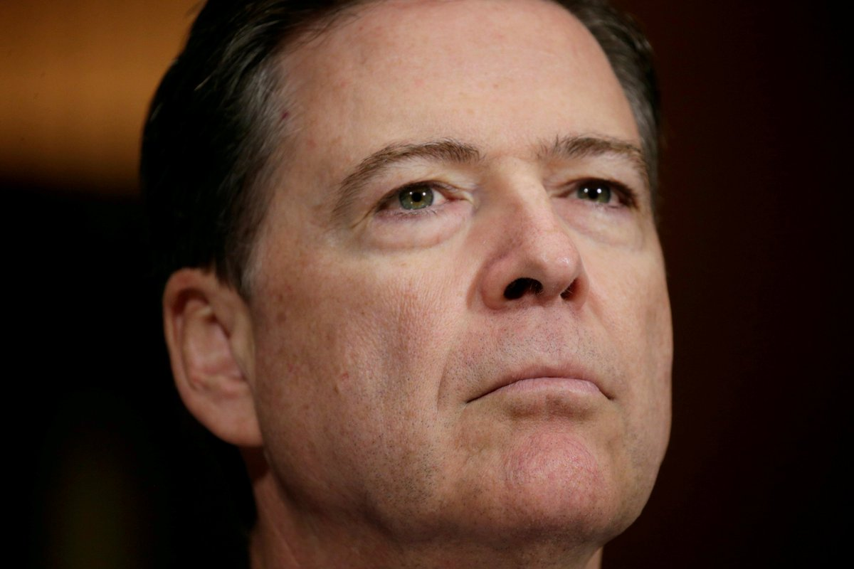 Ex-FBI chief James Comey testifies on Trump and Russia   Watch live -->