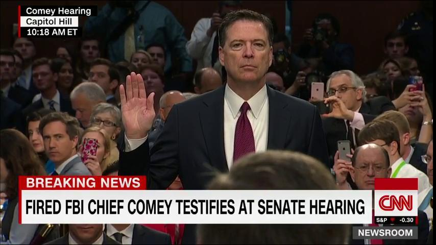 LIVE NOW: Fired FBI Director James Comey is testifying in a Senate hearing. Watch: