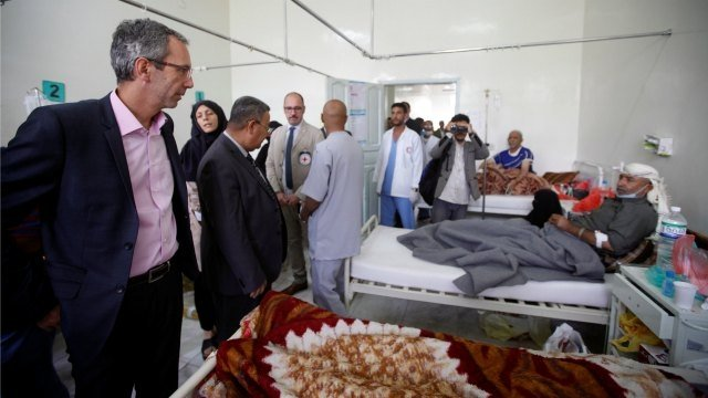 Yemen: 1,00,000 cases of cholera reported