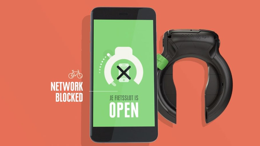 Dutch bike lock disables smartphones while on the move