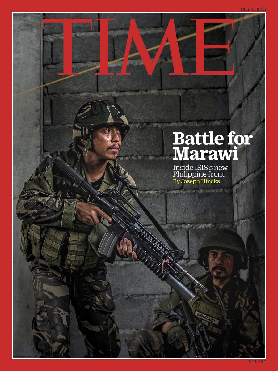 TIME's new cover in Southeast Asia: The battle for Marawi city