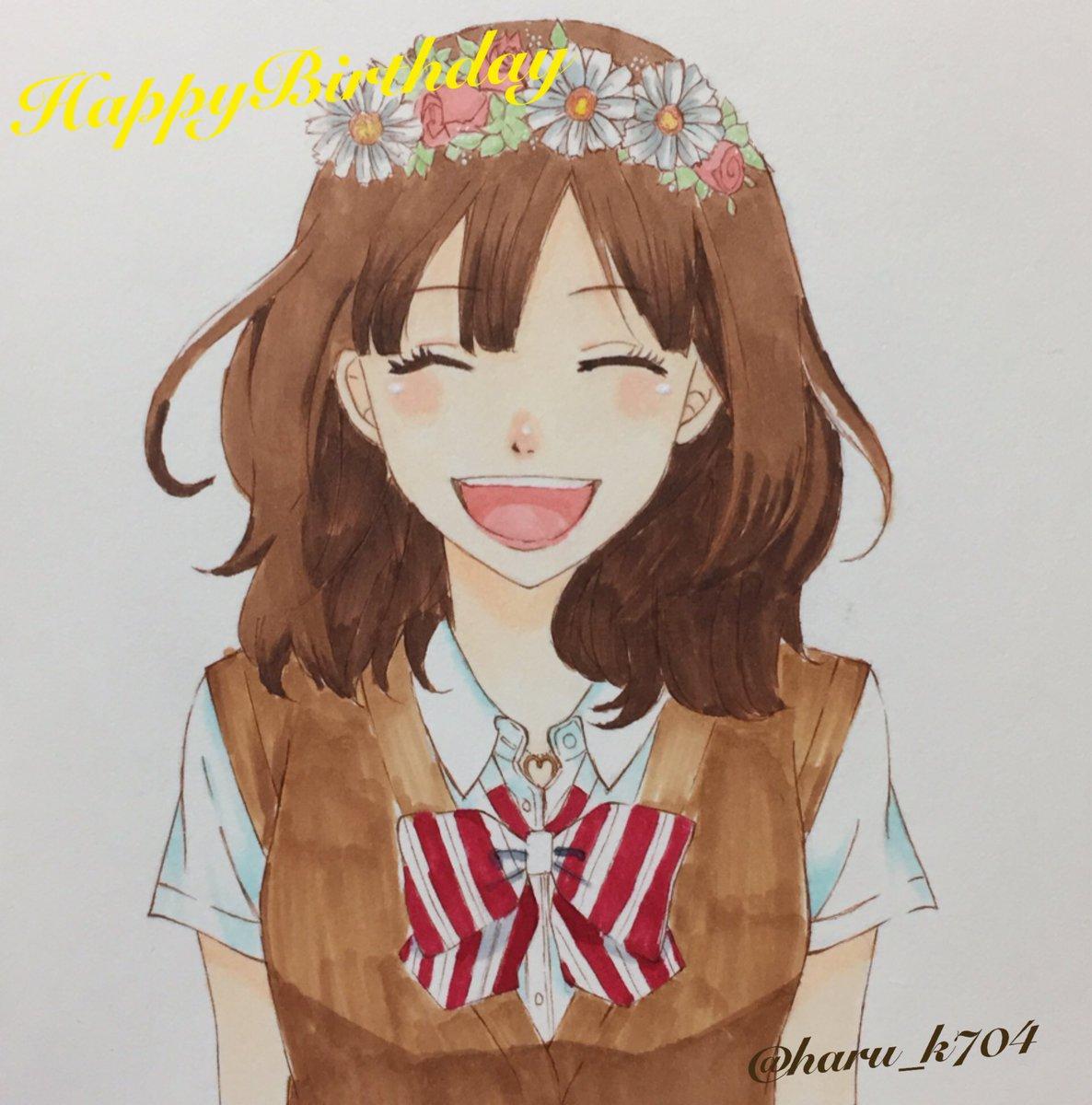 エリカちゃんHappy Birthday!✨恭也くんといつまでもお幸せに💭💓#オオカミ少女と黒王子#篠原エリカ生誕祭20