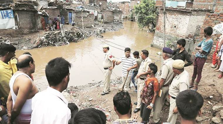 Heavy downpour in Tricity, 6-year-old Panchkula boy swept away, Mohali womanelectrocuted