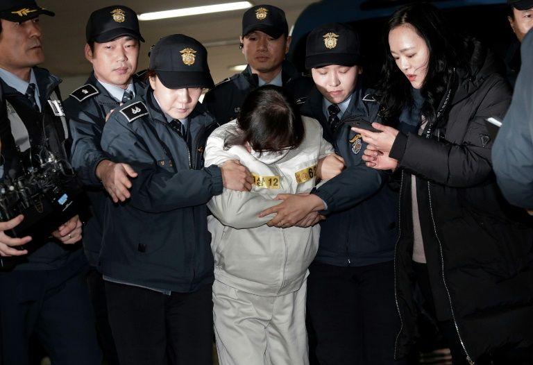 Disgraced S. Korean leader's friend Choi jailed for three years