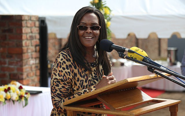 First Lady slams sanctions, hails Cde Chinx | The