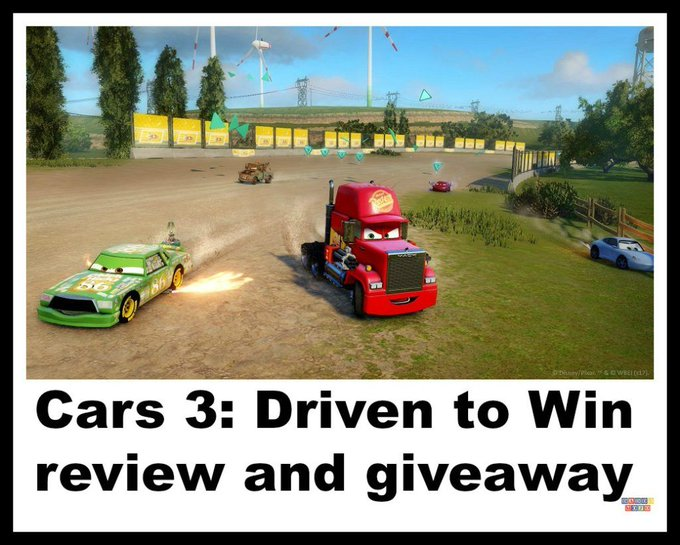 Cars 3: Driven to Win review and giveaway