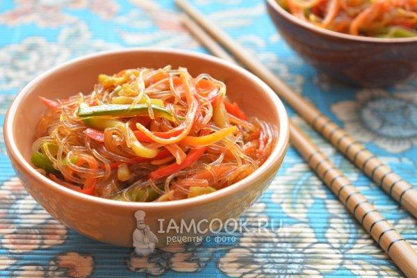 Рецепт блюд из китайской лапши