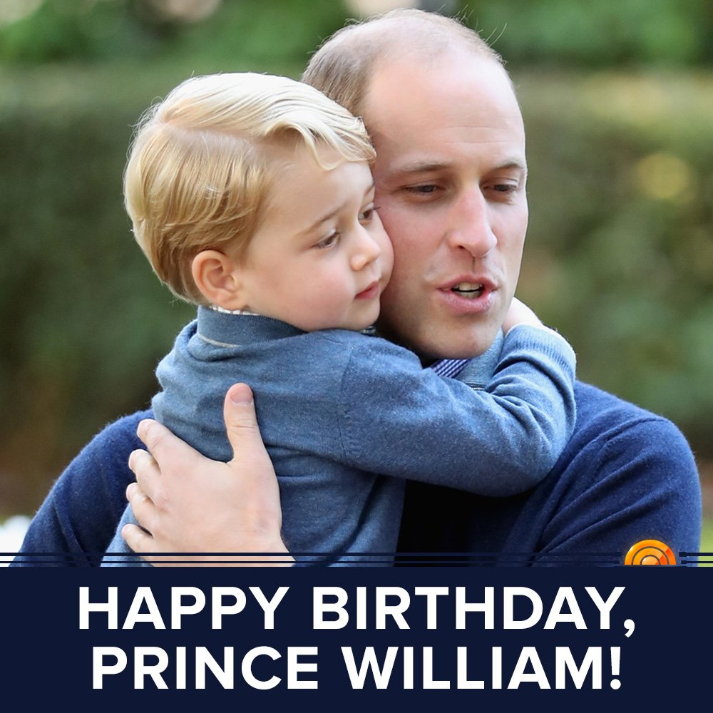 Happy 35th birthday, Prince William!