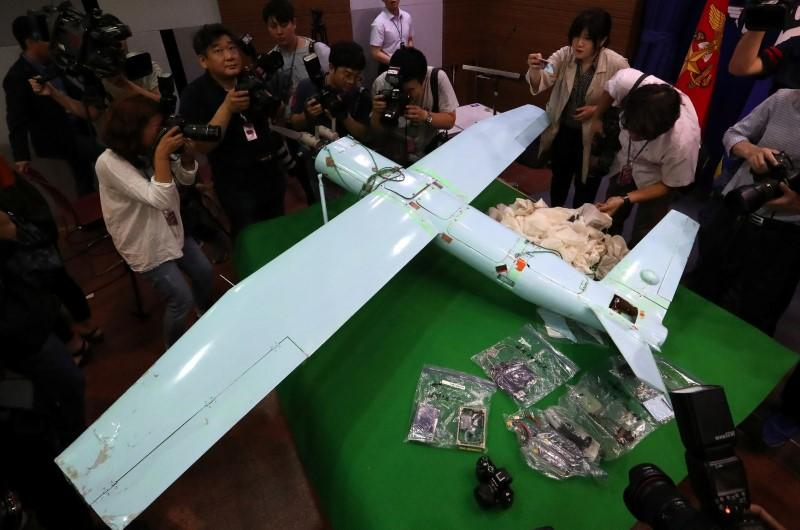 South Korea says crashed North Korean drone a 'grave provocation'