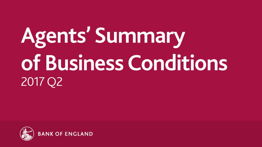 We have just published our latest Agents' Summary of Business Conditions - 2017 Q2. https://t.co/0BZB6sds9O https://t.co/HxDzpl4cR0