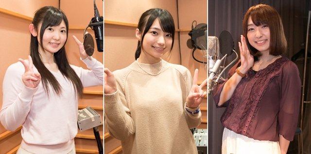 【ニュース】TVアニメ『ファンタシースターオンライン2』キャラソンCD Vol.2より、高野麻里佳さん、小原莉子さん、高